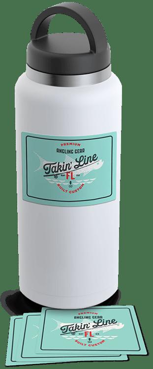 Takin' Line Stickers