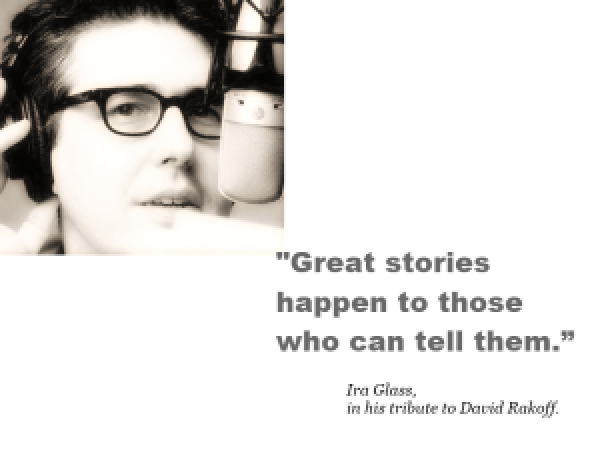 Storytelling - Great Stories Quote