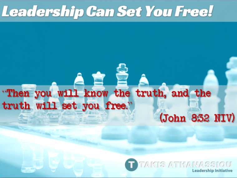 Leadership Can Set You Free