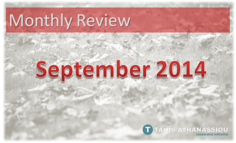 Monthly Review - September 2014