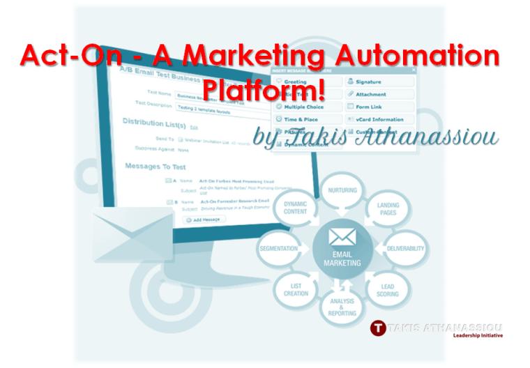 Act-On - A Marketing Automation Platform