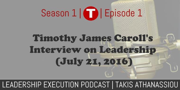Timothy Carroll Podcast
