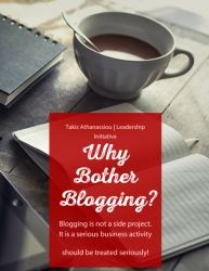 Why bother blogging? Cover