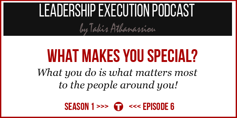 Podcast Cover Post - Ep.006 - What Makes You Special?