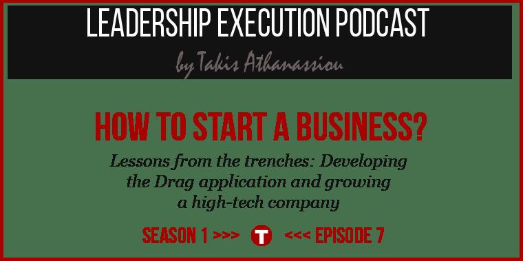 Podcast SE01EP07 - Start Business