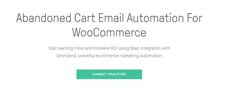 omnisend woocommerce plugin