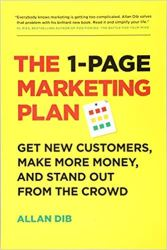 The 1-Page Marketing Plan Cover