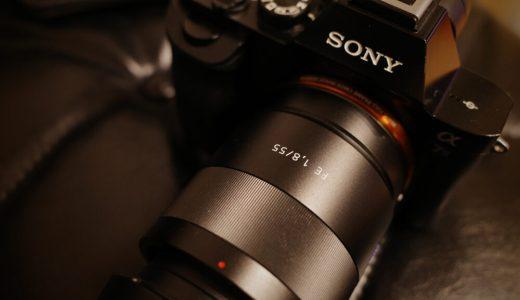 神レンズ Sonnar T* FE 55mm F1.8 ZA