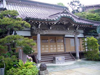 Side mini shrine thing of Manpukuji