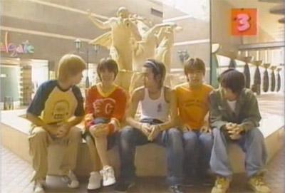 Takki and Kansai Jrs outside SPA WORLD