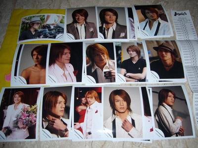Takizawa Hideaki Johnnys shop photos - NEWS VTR and Ai Kakumei Offshots