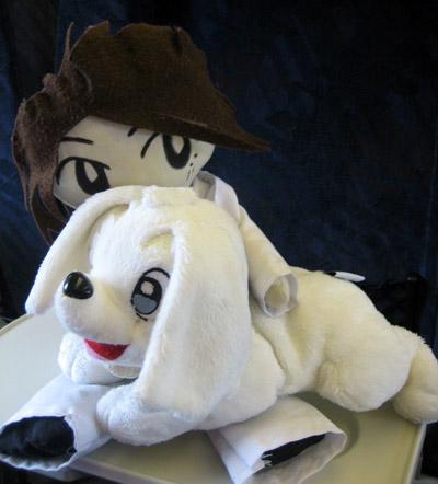takki doll with hidezo