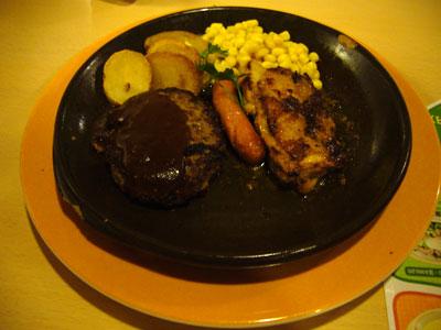 dinner at jonathans