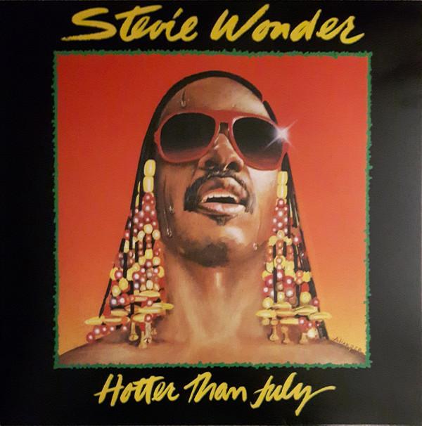 Stevie Wonder - Hotter Than July - vinyl record