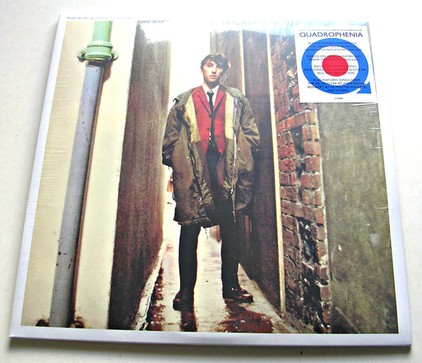 Various - Quadrophenia (Music From The Soundtrack Of The Who Film) - vinyl record
