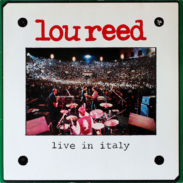 Lou Reed - Live In Italy - vinyl record