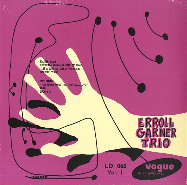 Erroll Garner Trio - Vol.1 - vinyl record