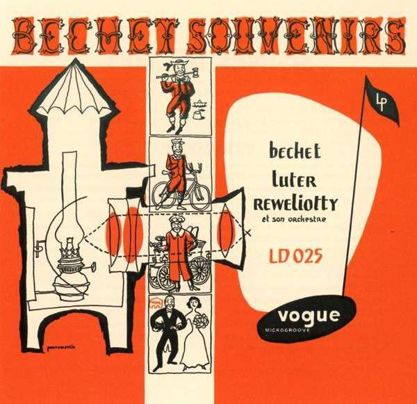 Sidney Bechet - Bechet-Souvenirs - vinyl record