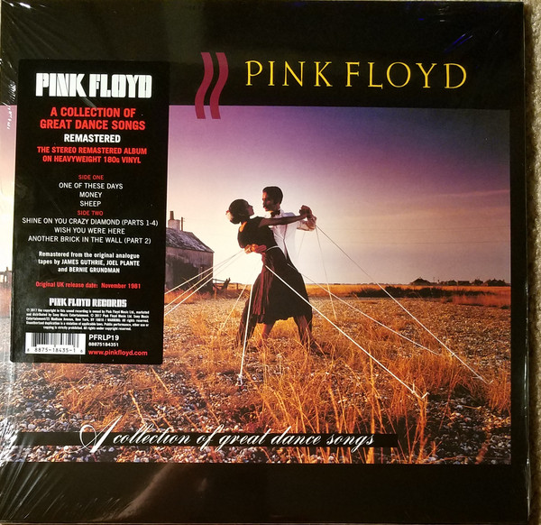 Pink Floyd - A Collection Of Great Dance Songs - vinyl record