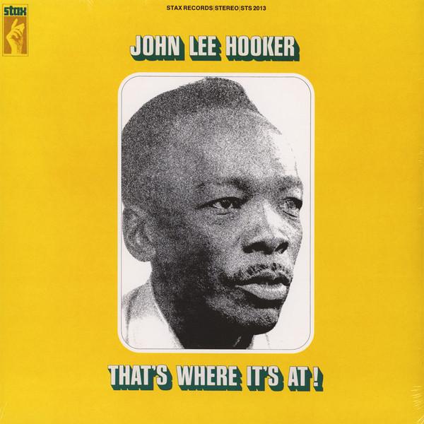 John Lee Hooker - That's Where It's At - vinyl record