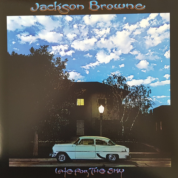 Jackson Browne - Late For The Sky - vinyl record