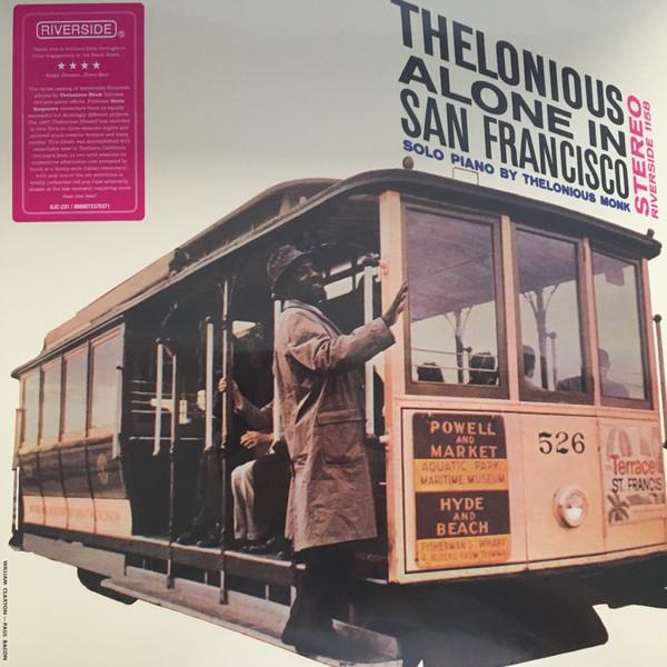 Thelonious Monk - Thelonious Alone In San Francisco - vinyl record