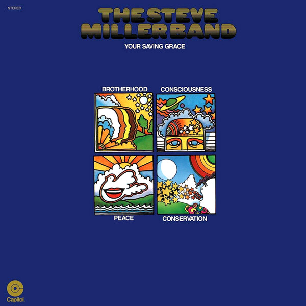 Steve Miller Band - Your Saving Grace - vinyl record
