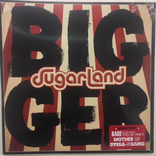 Sugarland (2) - Bigger - vinyl record