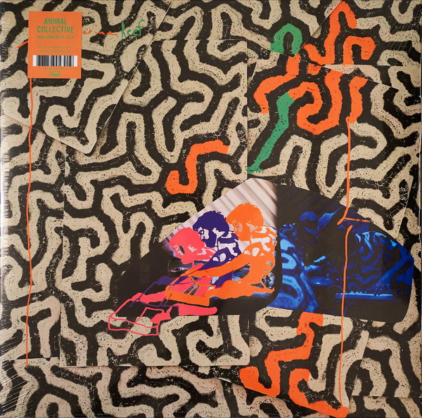 Animal Collective - Tangerine Reef - vinyl record