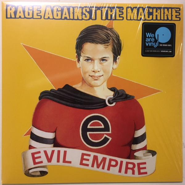 Rage Against The Machine - Evil Empire - vinyl record
