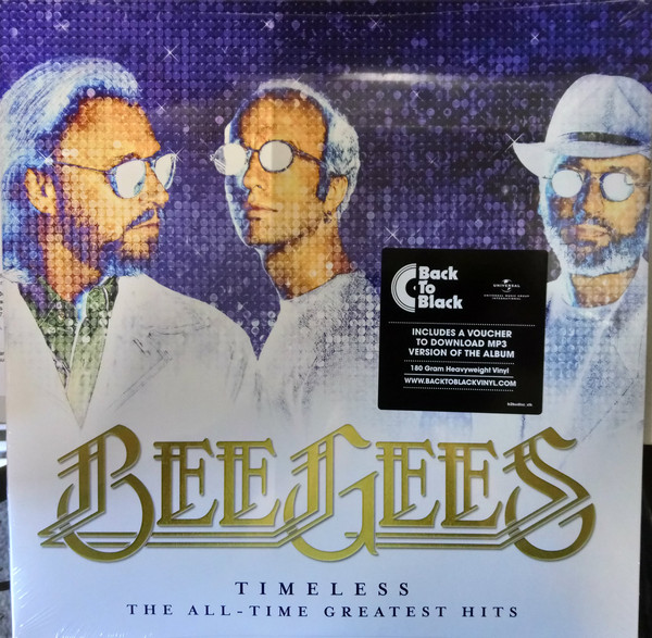 Bee Gees - Timeless - The All-Time Greatest Hits - vinyl record