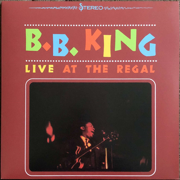 B.B. King - Live At The Regal - vinyl record