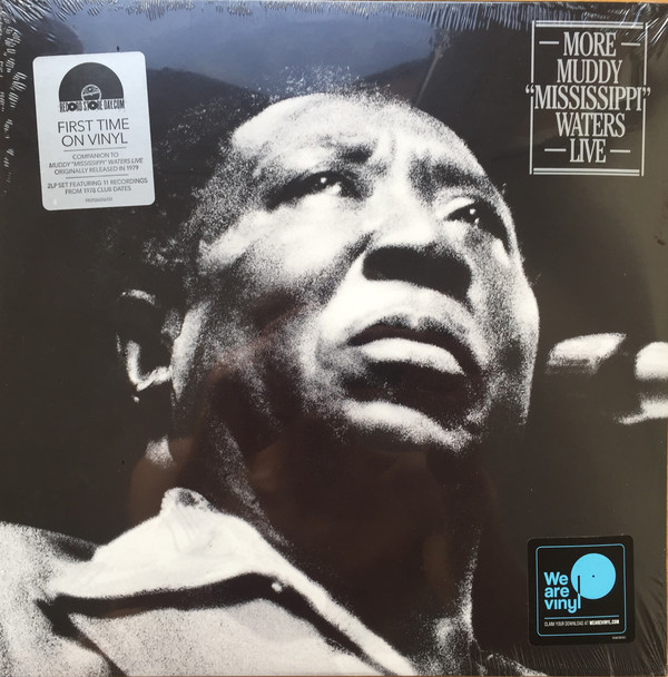 """Muddy Waters - More Muddy """"Mississippi"""" Waters Live - vinyl record"""