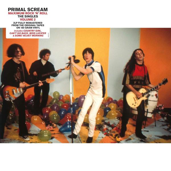 Primal Scream - Maximum Rock 'N'Roll - The Singles Volume 2 - vinyl record