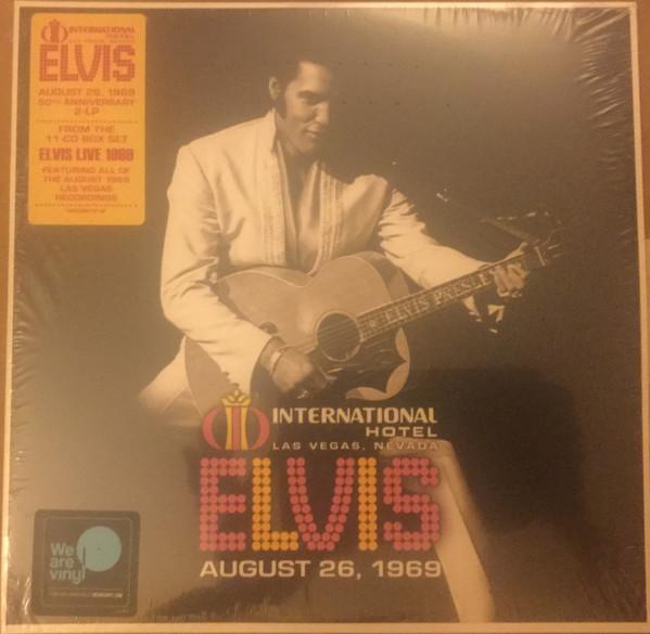 Elvis Presley - International Hotel Las Vegas, Nevada August 26, 1969 - vinyl record