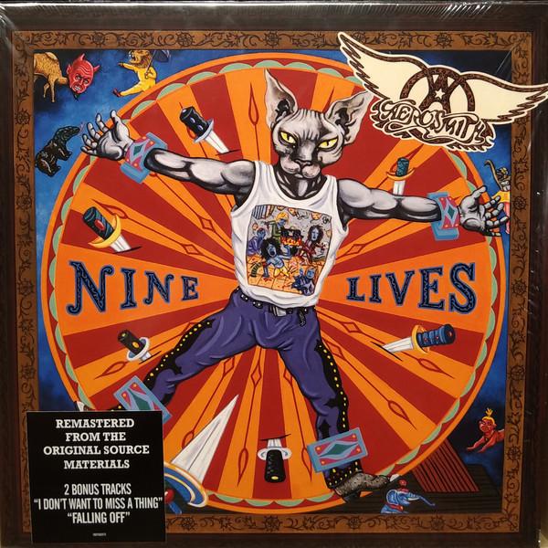 Aerosmith - Nine Lives - vinyl record