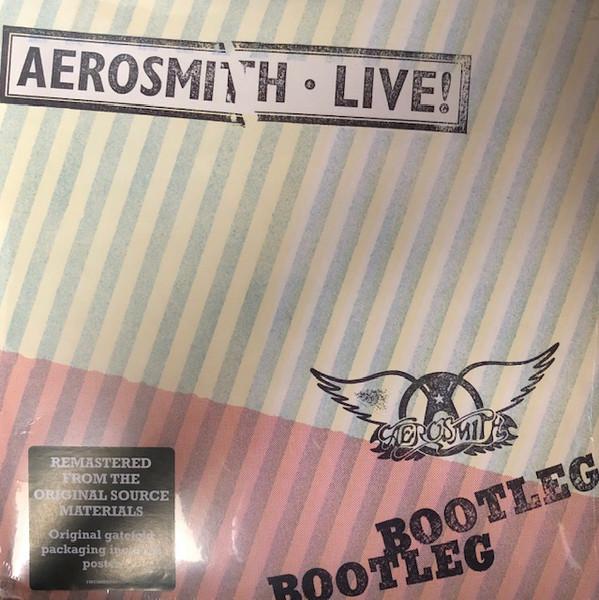 Aerosmith - Live! Bootleg - vinyl record
