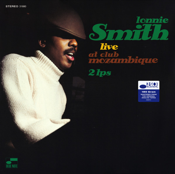 Lonnie Smith - Live At Club Mozambique - vinyl record