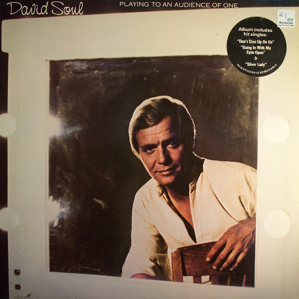David Soul - Playing To An Audience Of One - vinyl record