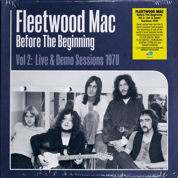 Fleetwood Mac - Before The Beginning (Vol 2: Live & Demo Sessions 1970) - vinyl record