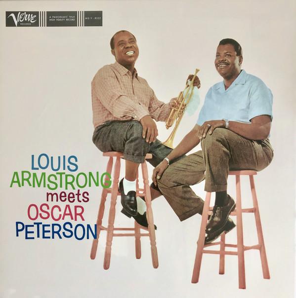Louis Armstrong - Louis Armstrong Meets Oscar Peterson - vinyl record