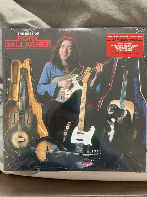 Rory Gallagher - The Best Of Rory Gallagher - vinyl record