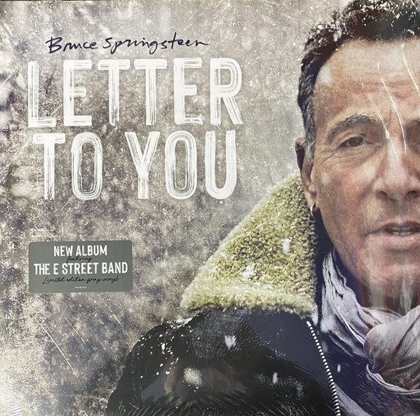 Bruce Springsteen - Letter To You - vinyl record