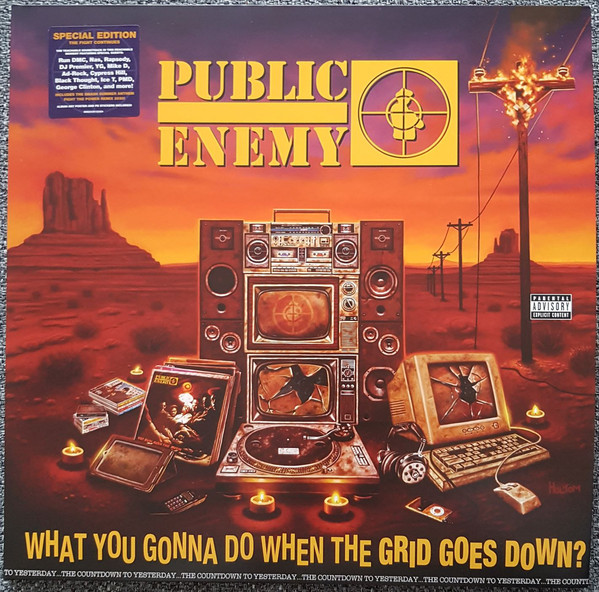 Public Enemy - What You Gonna Do When The Grid Goes Down? - vinyl record