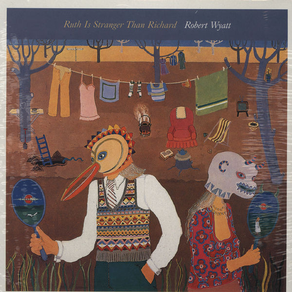 Robert Wyatt - Ruth Is Stranger Than Richard - vinyl record