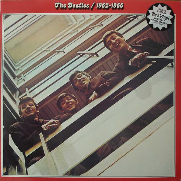 The Beatles - 1962-1966 - vinyl record