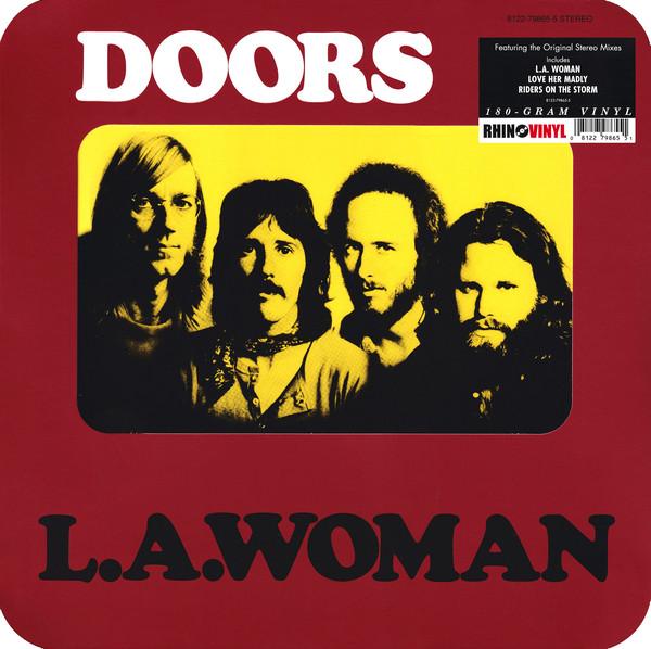 The Doors - L.A. Woman - vinyl record