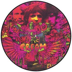 Cream (2) - Disraeli Gears - vinyl record