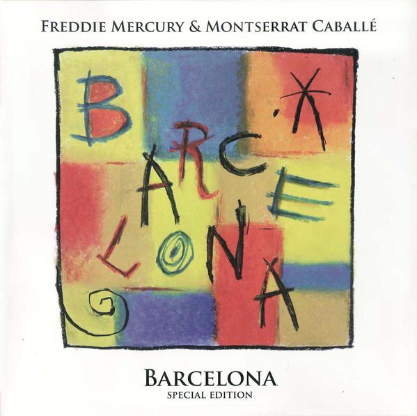 Freddie Mercury - Barcelona - vinyl record