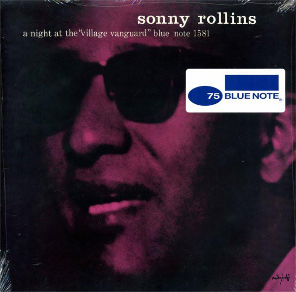 "Sonny Rollins - A Night At The ""Village Vanguard"" - vinyl record"